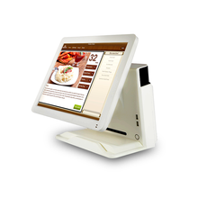 15 inch POS system Touch screen Computer monitor With MSR High quality Supermarket cash register POS 1618