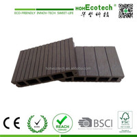 Exterior Plastic Outdoor Tongue and Groove Composite Decking