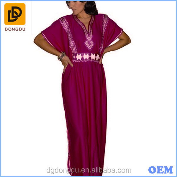 2016 Gold Embroidery kaftan