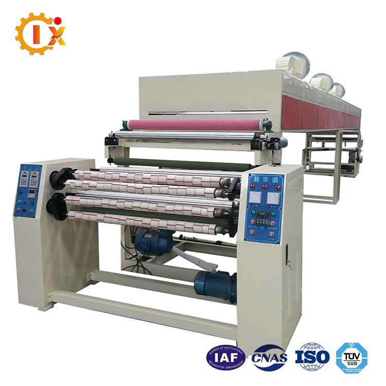 Fiberglass Casting Teflon Curtain Tape Coating Machine