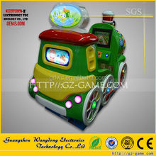 colorful swing car train ride,coin operated train kiddie rides, electric train amusement kiddie rides