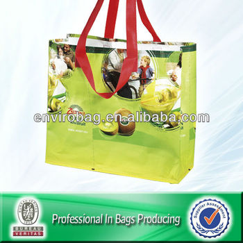 Fruit Printed Supermarket Shopping Bag