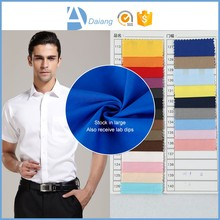 wholesale new product 100% combed italian cotton shirting fabric for sale stock