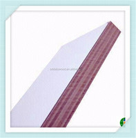 white HPL covered plywood sheet