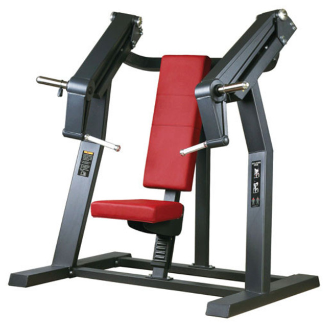 adjustable chest press Xinrui workout equipment training Incline Chest Press FW03 for gym <strong>fitness</strong>