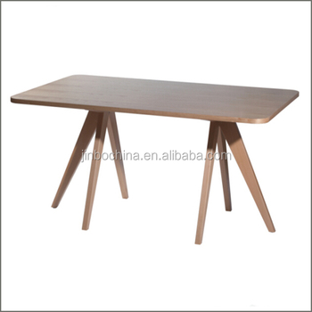 Quality wooden rectangular dining table buy rectangular for Quality wood dining tables