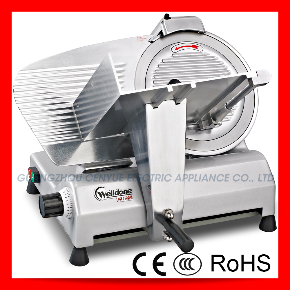 industrial commercial semiautomatic beef meat slicing machine frozen meat slicer