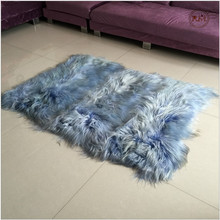 Long Hair Goat Fur Carpet for Sitting Room