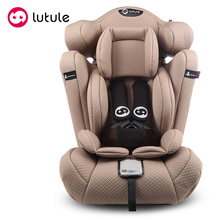 Isofix fabric adjustable racing style baby booster seat car seat
