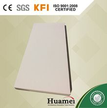 Torrefaction compounded high density fiberglass wool board white spray excelent sound insulation fiberglass acoustic ceiling