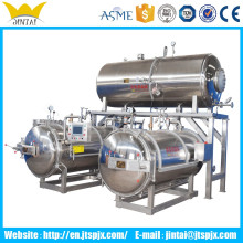 Full automatic glass bottle/jars autoclave spray sterilizing machine sterilizing machine