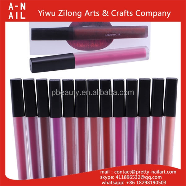 New arrival waterproof makeup private label cosmetics liquid matte lipstick