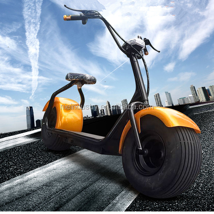 Original supplier 1500W brushless motorcycle electric 48V20 AH e-scooter with basket