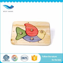 High Quality Wholesale Custom Cheap Imported Wooden Toys 3d Jigsaw Puzzle Nursery School Toys With EN71 Certificates