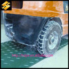 Very Durable HDPE ground protection plastic plate mat