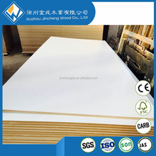 8mm 18mm warm white Melamine faced MDF board
