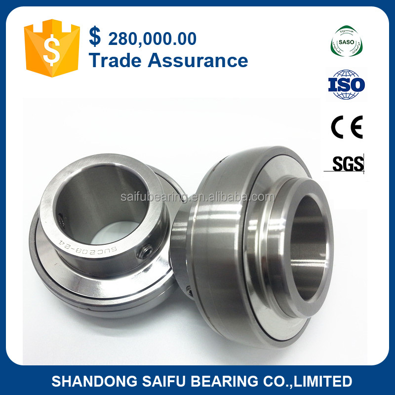 Waterproof Stainless Steel pillow block Insert ball bearing UC 206-18