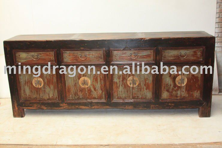 List manufacturers of chinese antique wood long sideboard for Oriental furniture nj