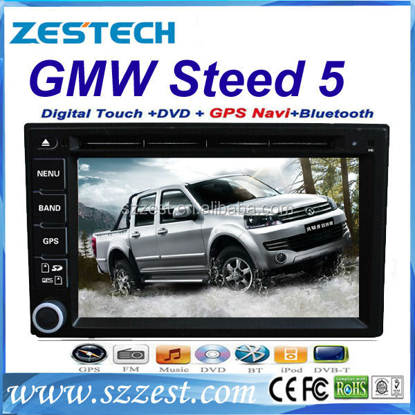 ZESTECH car dvd player for greatwall Steed 5 car dvd player with gps portable dvd player