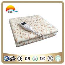 Brand Safe Electric Blanket with CE GS RoHS CB certifications