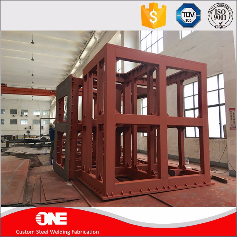 price for custom structural steel frame structure fabrication company