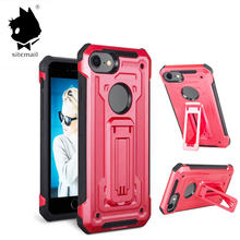 sublimation best selling tpu+pc cell mobile cover unbreakable kickstand phone case for iphone 7