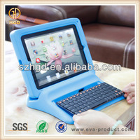 great educational tool childproof rubber case for ipad 4 with keyboard