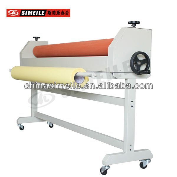 cold and hot roll laminator with stand