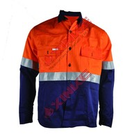 cotton wholesale fire protection jackets for industry workwers