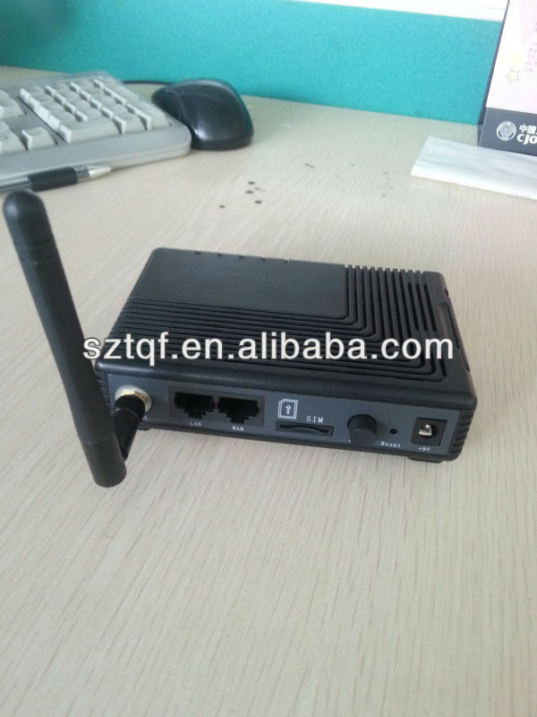 3g WIFI ROUTER WITH PASTN PORT AND SIM CARD SLOT