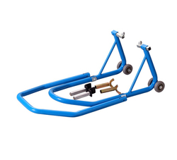 Lee-Ding good sale front/rear motorcycle jack stand motorcycle wheel stand for sale