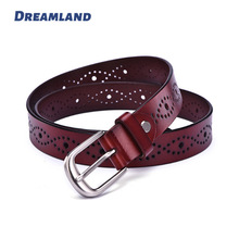 Customized Punching Antique Women Belts Wholesale Supplier