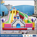 New Super rocket inflatable slide Commercial inflatable rocket slide inflatable bouncer slide