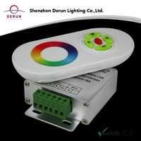 RF remote rainbow touch led controller with CE
