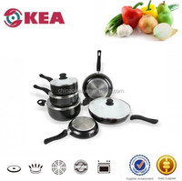 Aluminum ceramic coating induction cookware