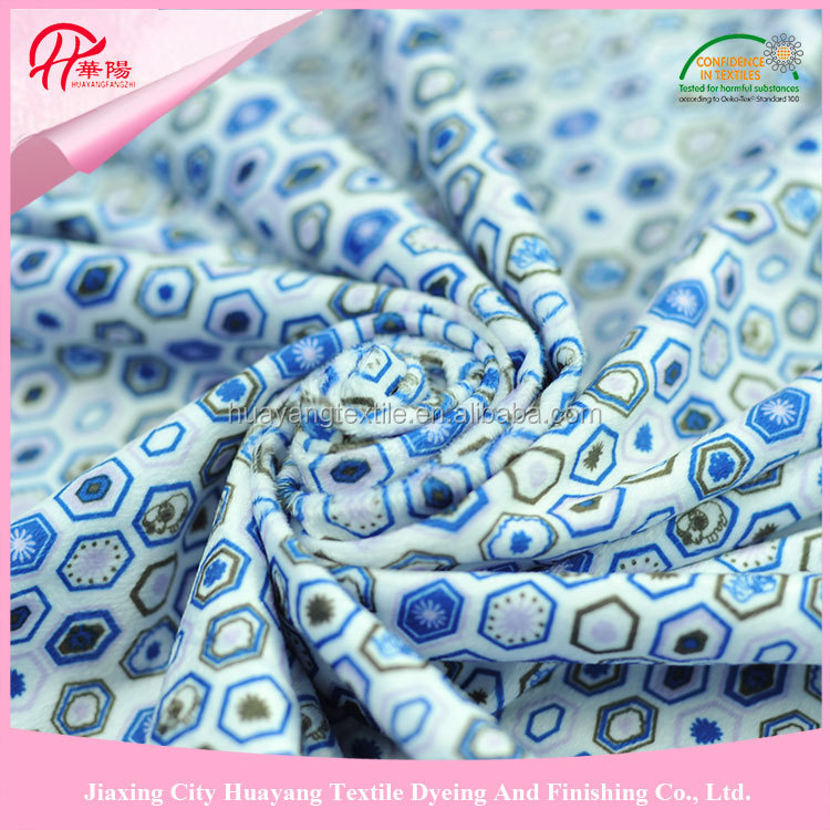 100% polyester knitting aloba/alova fabric for baby car safe seat