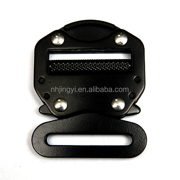 Black Color high quality harness quick release belt buckle