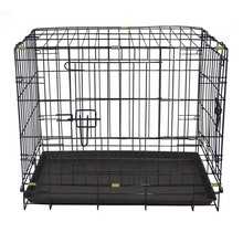 Hign quality folding collapsible metal metal dog crates dog house