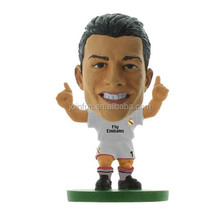 Custom football player toy Ronaldo figure,Custom plastic footall player toy,Mini football player toy ronaldo figure