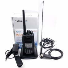 TYT MD-390 IP67 Waterproof Portable Transceiver Digital 2way Radio UHF 400-480MHz Tytera DMR Walkie Talkie with Pro Cable