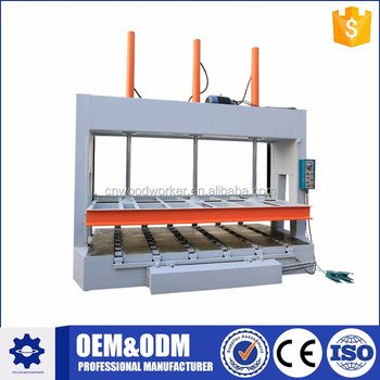 Best selling nice quality MJ50B door press machine for panel furniture