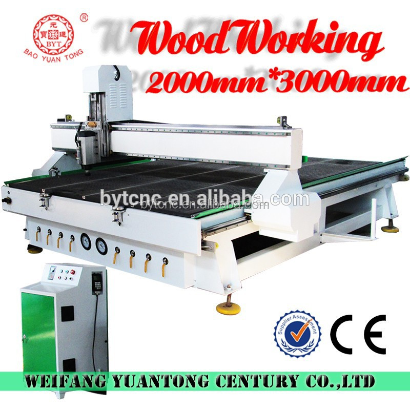 2015 BYT cnc router cnc router machine for panel door