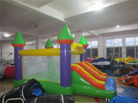 Inflatable Indoor Commercial Bouncer with Slide