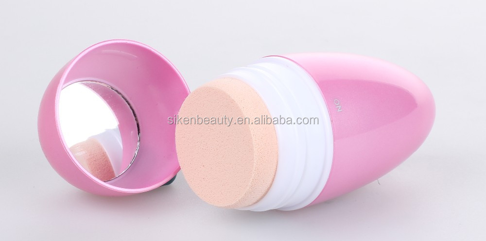 professional quality finish patented vibrating makeup applicator puff