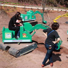 Suzhou Fwulong kids ride on excavator procurement