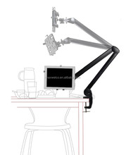 Table Industiral Tablet Stand, Table Swing Holder, Swivel Table Tablet Mount