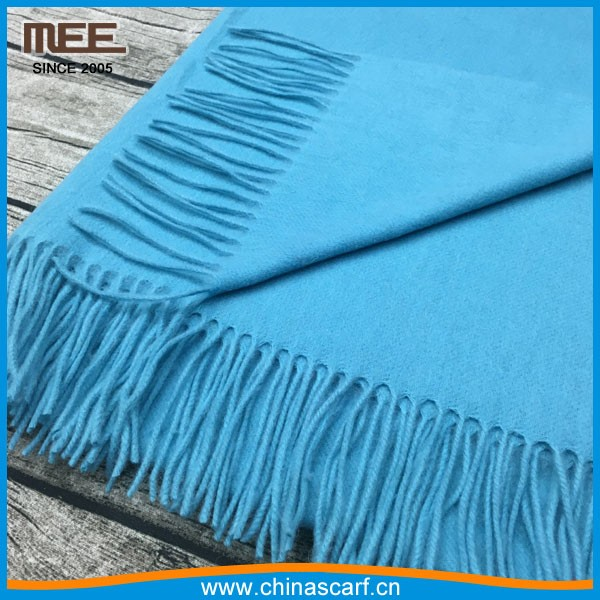 wholesale high quality navy lady italian cashmere scarf