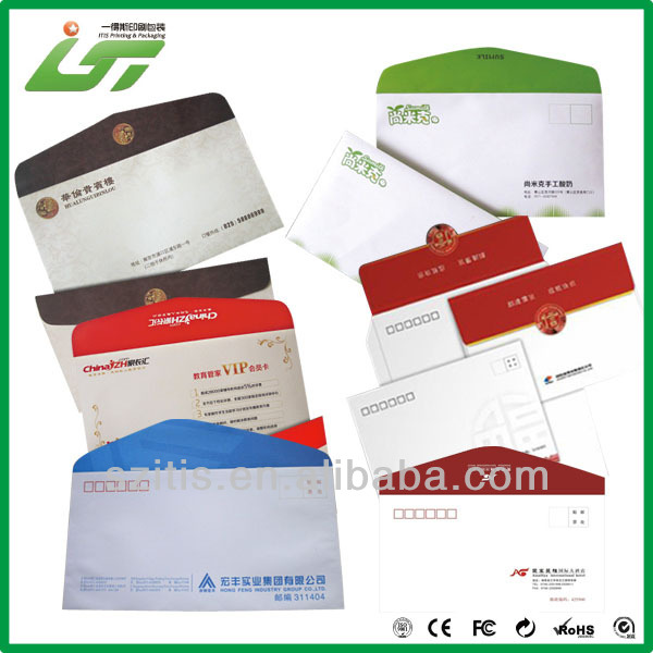 recyclable colorful peal and seal envelope best price hot selling