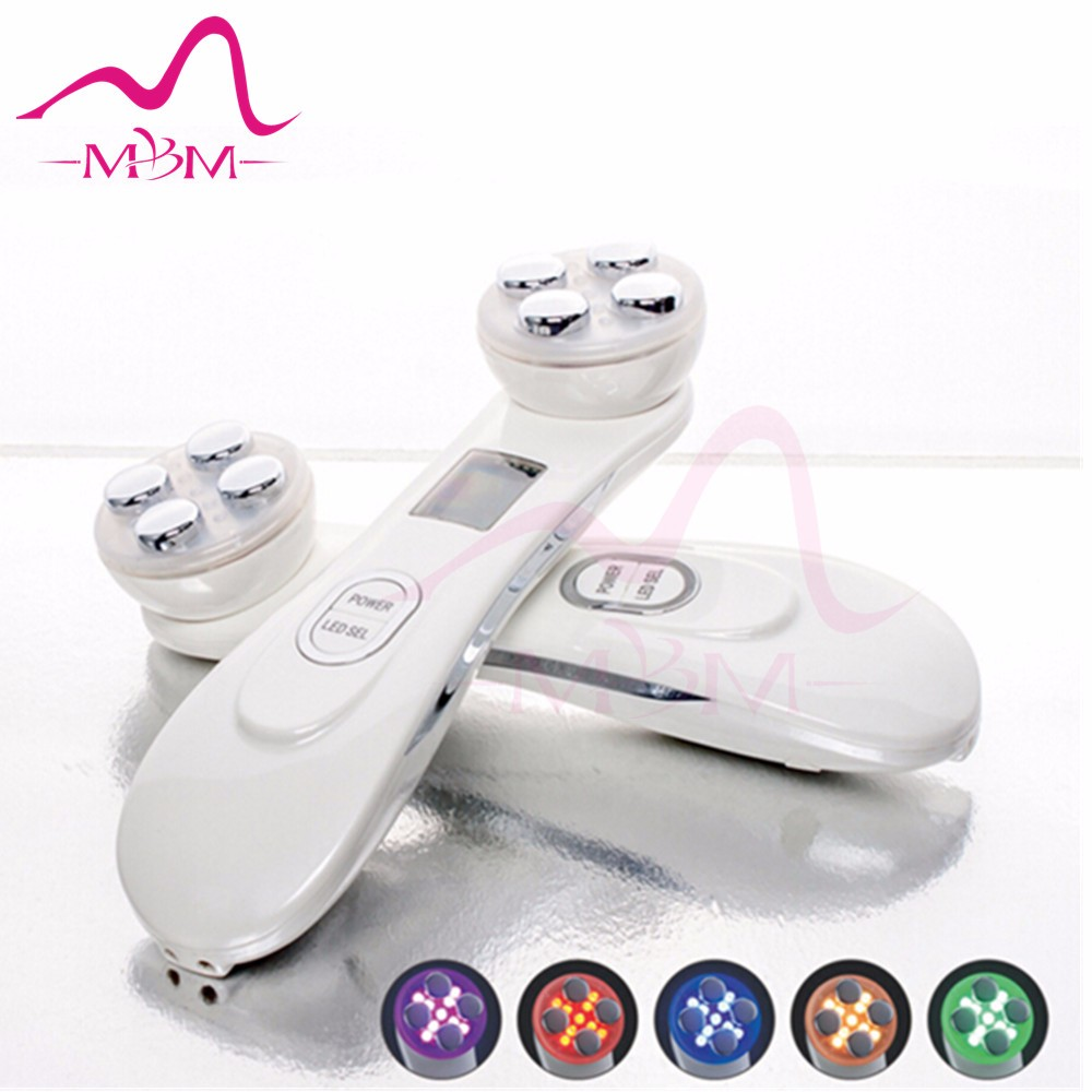 High quality Photon body wrinkle remove RF / EMS and 6 colors Red light therapy beauty product