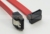 Serial ATA Cable 7 pin SATA F-F Right Angled to Straight 50CM